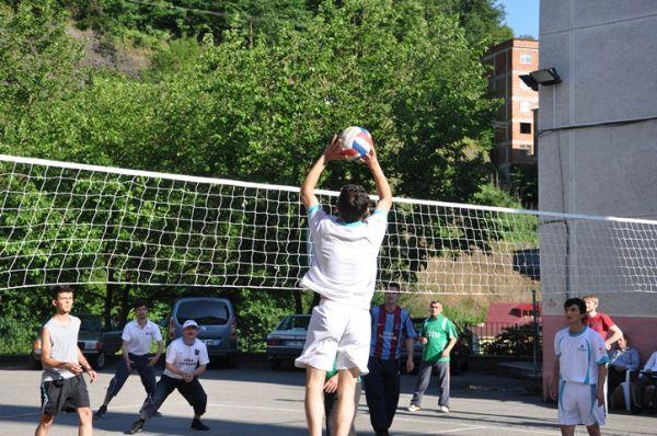 Voleybol turnuvası'