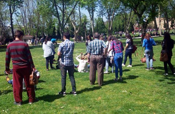 Anadolu Lisesi Öğrencileri Şalpazarı'na hareket et