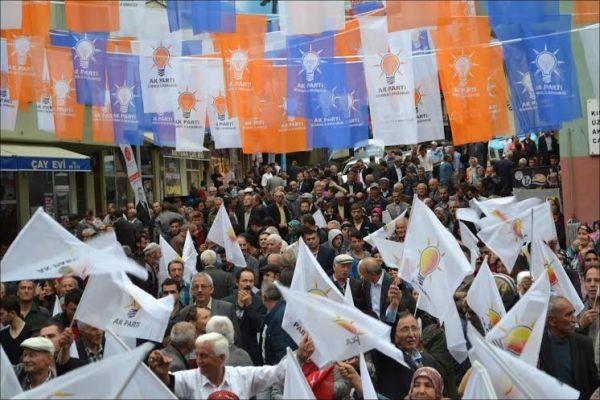 AK Parti mitingi
