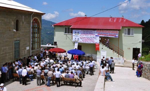 Kasımağzı Köyü Cami çevre düzenlemesi açılışı