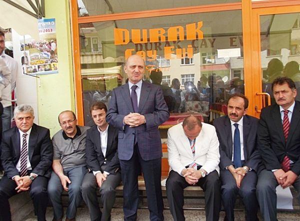 Bakan Erdoğan Bayraktar'ın İlçemizi Ziyareti