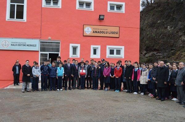 Şalpazarı Anadolu Lisesi Yeni Binasına Taşındı.