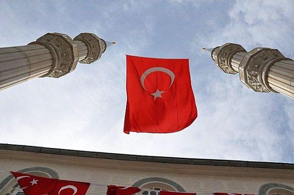 Sayvançatak Köyü Fatih Camisi'nin Çifte minareleri