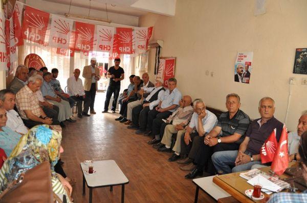 CHP Şalpazarı İlçe Başkanlığı Danışma Kurulu Topla