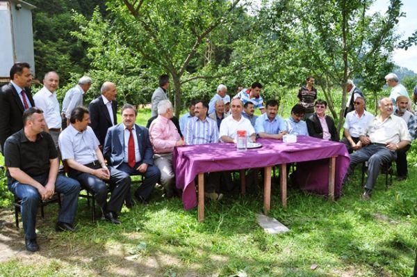 Çamlıca Köyüden Açılış Töreni.