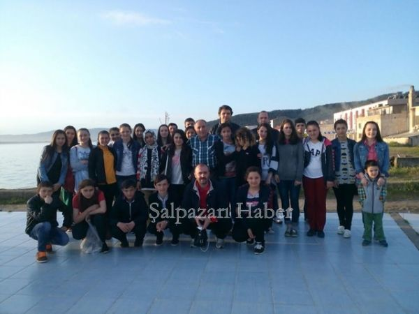 Şalpazarı Anadolu Lisesi Çanakkale'de