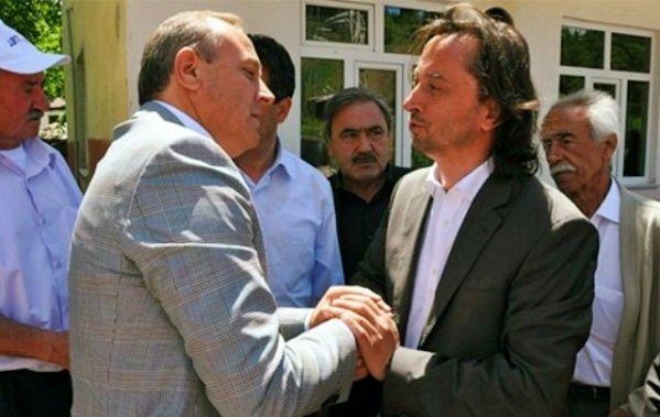 Vali Kızılcık Hüseyin Karagül'e taziye ziyareti.