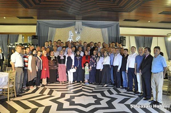 Hilmi Türkmen'in Şalpazarı'ndan Gelenlere Teşekkür