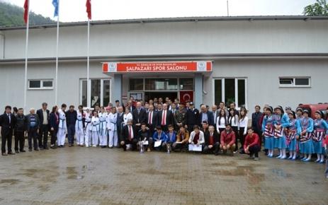 19 Mayıs Gençlik ve Spor Bayramı Şalpazarı'nda Kutlandı.