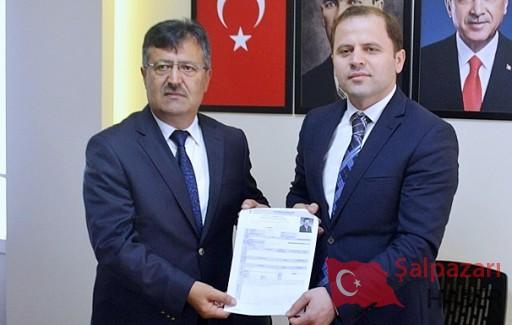 Muzaffer Türkmen aday adaylığı başvurusunu yaptı