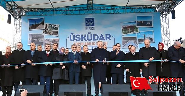 Üsküdar'da Dev Projeler Cumhurbaşkanı Erdoğan Tarafından Hizmete Açılı