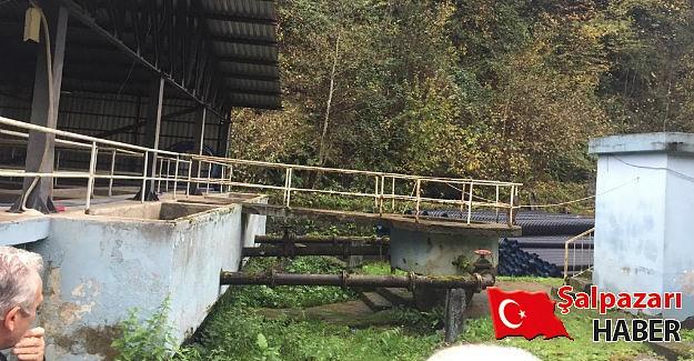 Büyükşehir'den Şalpazarı'na su arıtma tesisi