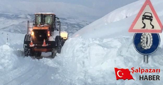 Şalpazarı'nda kar tatili