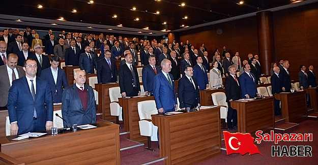 Trabzon Büyükşehir Belediye ilk meclis toplantısını yaptı.