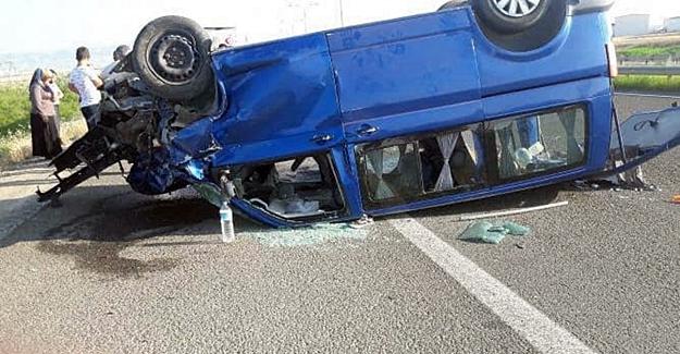 Ömer Öztürk Trafik kazası geçirdi