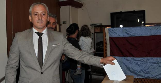 Samsun Şalpazarı Ağasarlılar Yard Derneği başkanlılğına Metin Çolak seçildi