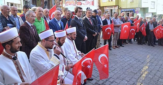 Mehmetçikler için Kur-an'ı Kerim okunup dua edildi