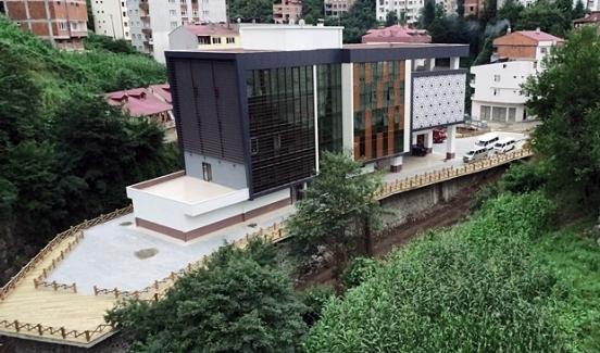 Şalpazarı Belediyesi yeni hizmet binasına taşındı