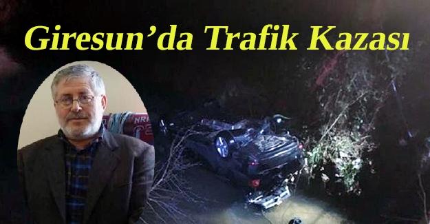 Giresun'da Trafik Kazası