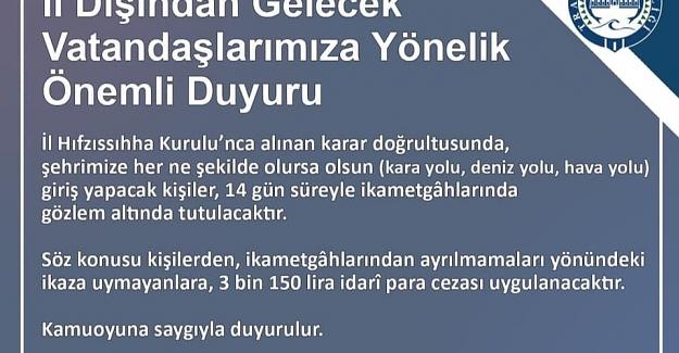 Trabzon'da yasakların kapsamı genişliyor...