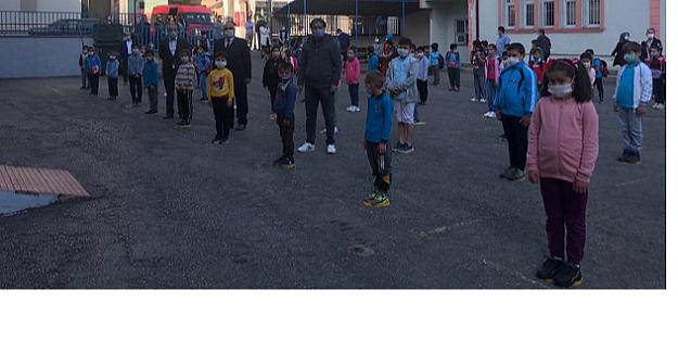 Şalpazarı'nda Yüz Yüze Eğitimin 2. Aşaması Başladı