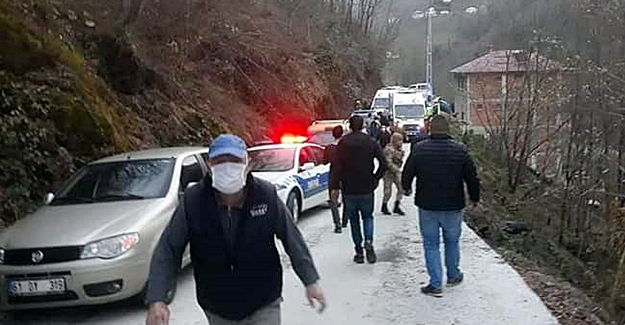 Şalpazarı'nda feci kaza!