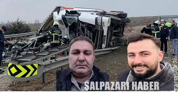 Şalpazarılı baba ve oğul aynı kazada hayatını kaybetti