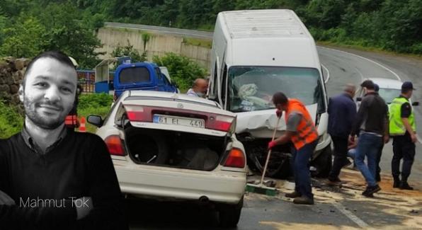 Şalpazarı'nda trafik kazası! Ölü ve yaralı var