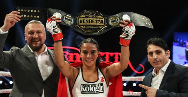 Sabriye Şengül Vendatta Dünya Şampiyonluk kemerine ulaştı