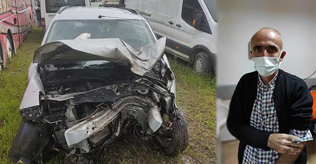 Çarşamba'da trafik kazası