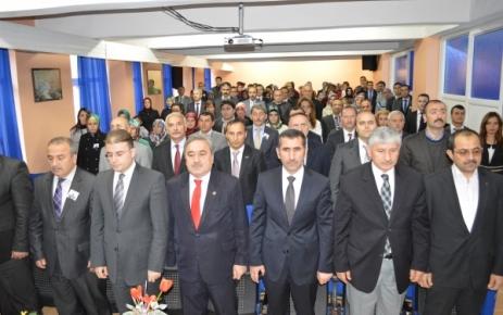 24 Kasım Öğretmenler Günü İlçemizde Törenlerle Kutlandı.