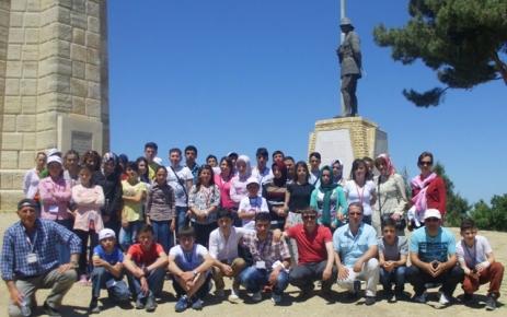 3. Çocuk ve Gençlik Festivali'nin 3. Gününde Öğrenciler Çanakkale'yi Gezdi.