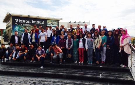 4. Çocuk Fastivali Öğrencileri İstanbul'da