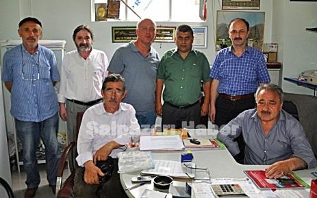 Ali Ergin Maden tatil için Şalpazarı'na geldi.