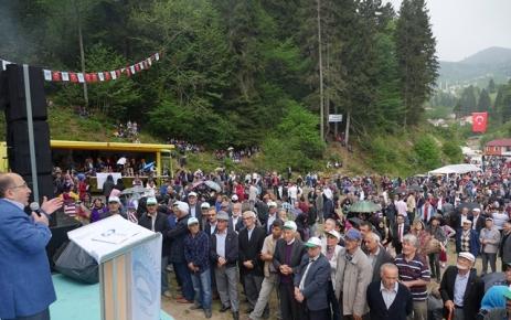 Acısu Hıdrellez Kültür ve Bahar Bayramı yapıldı.
