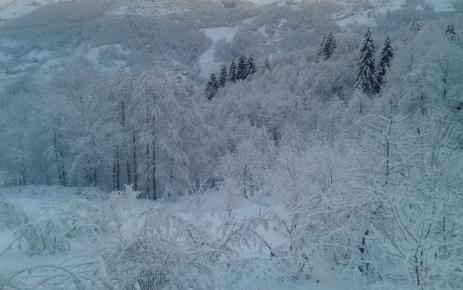 Ağasar Beyaza Büründü
