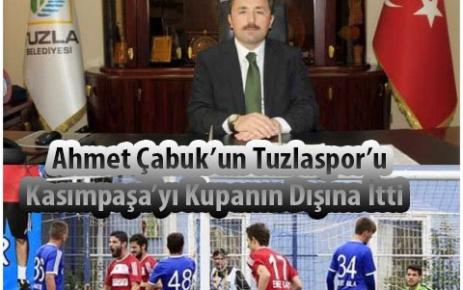 Ahmet Çabuk'un  Tuzlaspor'u  Kasımpaşa'yı kupanın dışına itti.