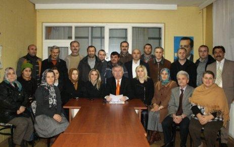 AK Parti İlçe Kongreleri sürüyor..