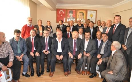 Ak Parti Şalpazarı İlçe Başkanlığında Bayramlaşma Töreni Yapıldı.