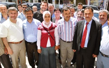 Ak Parti Şalpazarı İlçe Başkanlık bürosu açılışı yapıldı.