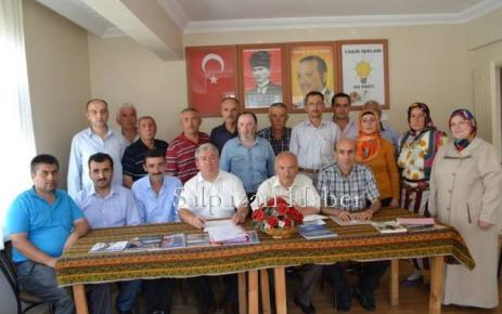 AK Parti Şalpazarı Yönetimi Görev Dağılımını yaptı.