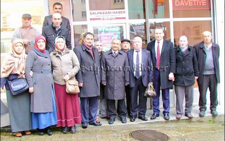 AK Parti Trabzon miletvekili adayı Nihat Tosun Şalpazarı'nı ziyaret etti.