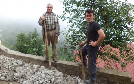 Akçiriş Köyü Camii'nde Tadilat.
