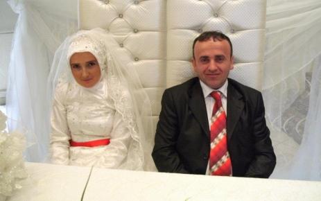 Akçiriş köyü imamı evlendi.