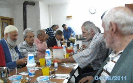 Akçiriş'te iftar