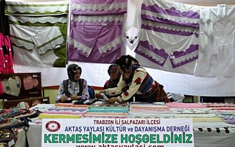 Aktaş Yaylası Derneği Kermes Düzenledi.