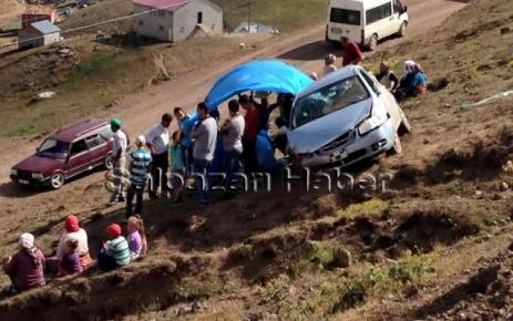 Aktaş Yaylasında Trafik Kazası.