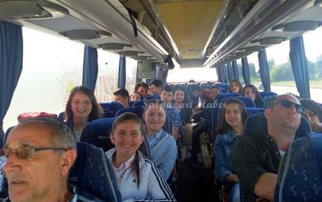 Anadolu Lisesi Öğrencileri Şalpazarı'na hareket etti.