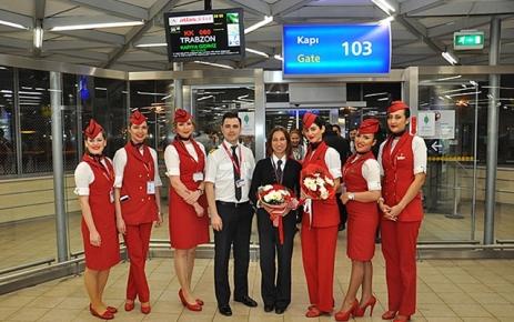 Atlasglobal, Trabzon Seferlerine Başladı