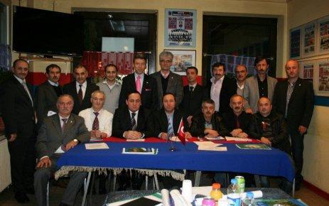 Avrupa Trabzon Dernekleri Federasyonu Kuruldu